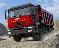 Установка гидравлики на тягач IVECO