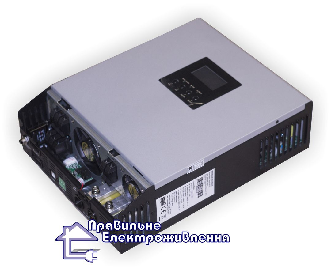 Гібридний ДБЖ 3000ВА, 24В + МППТ контролер 50А, Axpert MKS 3К-24