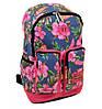 Яркий женский рюкзак в цветах