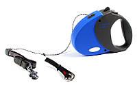 Поводок-рулетка для собак Trixie Flexi S Comfort Long 2 - 8 м, до 12 кг, трос