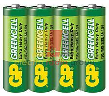 Батарейка GP 15Ж - S2 Greencell, LR6, AA