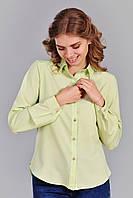 Нарядная женская рубашка строгого кроя