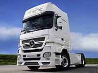 Установка гидравлики на тягач Mercedes