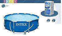 Каркасный сборный бассейн Intex 28212 (56996) Metal Frame Pool (366х76)