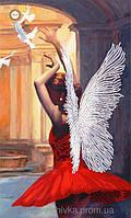 """Схема для вышивки бисером """"Лети, мой ангел"""""""