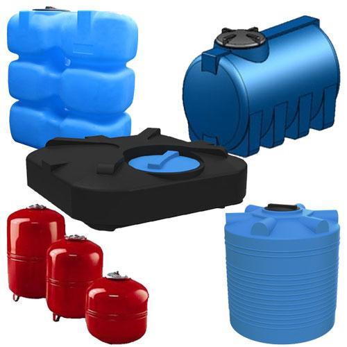 Расширительные баки и емкости для воды