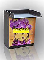 Комод с пеленальным столиком (фотопринт) черный корпус, фото 1