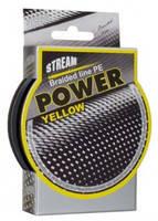 Шнур плетёный Stream Power Yellow, 135 m