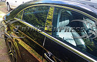 Mercedes CLS W219 W 219 2004-12 хромовые накладки на дверные стойки новые