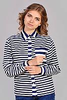Хлопковая полосатая рубашка