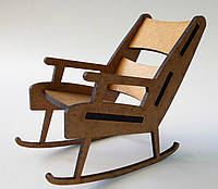 """Сувенир """"Кресло качалка"""""""