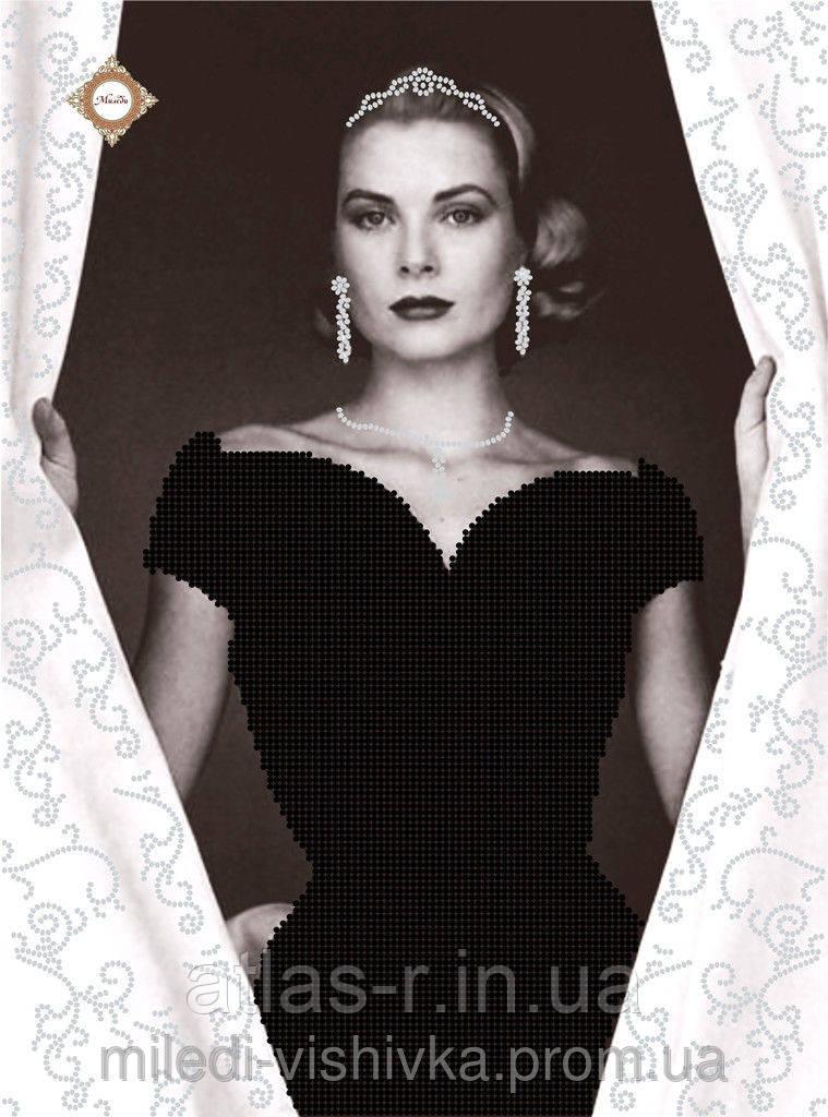 """Схема для вышивки бисером """"Принцесса Монако"""""""