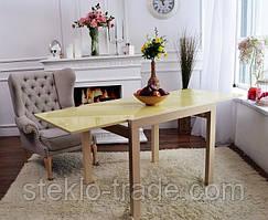 """Стол кухонный, обеденный, стеклянный, раскладной """"ДОМИНО"""""""