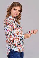 Элитная блуза с модный принтом