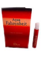 Туалетная вода Aqua Fahrenheit Dior 1ml (пробник)