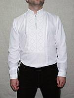 Чоловіча вишиванка 1021 біла