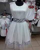 Вишиванка плаття з фатіном