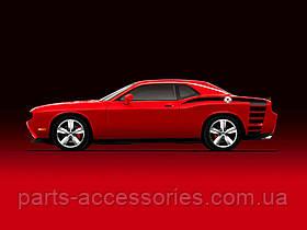 Задняя наклейка аппликация Dodge Challenger 2009-12 новая оригинал