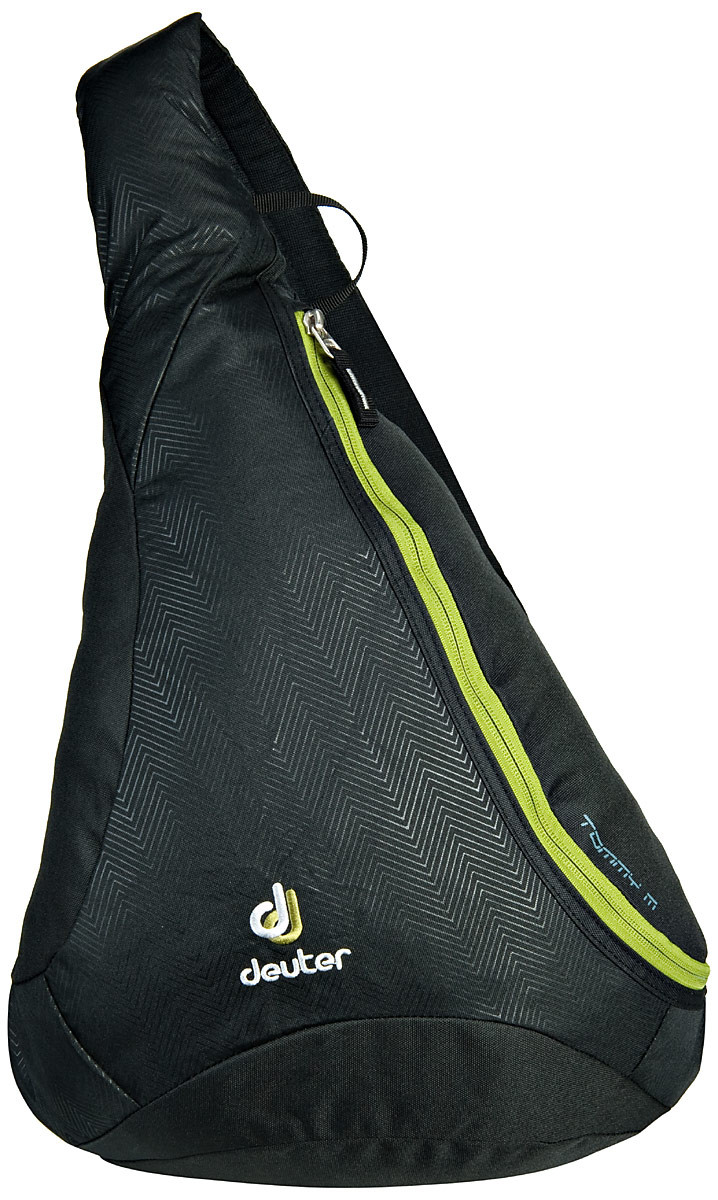 Рюкзак-сумка Deuter Tommy M black/moss (81213 7260)