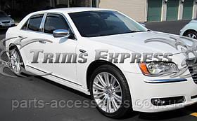 Chrysler 300 2011-16 хромовые молдинги на двери передние задние новые