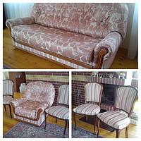 Перетяжка мягкой мебели Днепропетровск.