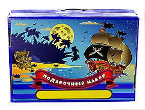 """Подарочный набор для детского творчества """"Пираты"""" 39 предметов"""