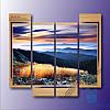 Модульнакая картина Красочнае небо из 4 фрагментов
