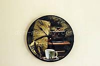 Часы настенные круглые № 129