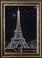 Велеколепная картина со стразами Эйфелева Башня