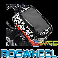 Велосипедная сумка на раму для смартфона Roswheel M Waal Black