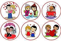 Любовь 138 Вафельная картинка