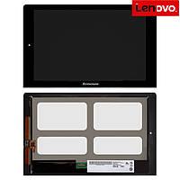 Дисплей + touchscreen (сенсор) для Lenovo B8080 Yoga Tablet 10 HD Plus, оригинал (черный)