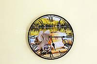 Часы настенные круглые № 136