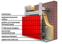 Фасадные работы (Сайдинг,металлосайдинг, профнастил), Харьков
