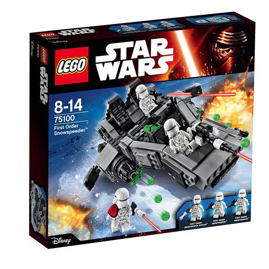 Конструктор LEGO Star Wars Сніговий Спідер Першого Ордена (75100)