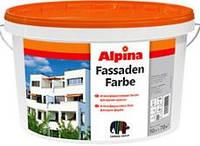 Краска фасадная акриловая Alpina Fassadenfarbe, 10 л