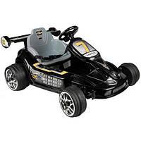Электромобиль  YJ135-BLACK детский картинг, гоночная машинка на радиоуправлении