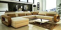 Угловой диван дизайнерский под заказ Дизайн-1