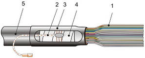 Концевая муфта КкТ-2   (каб.  16-26)