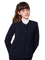 """Пиджак школьный для девочки м-863 рост 116-170черный, синий, зеленый,бордовый тм """"Попелюшка"""", фото 1"""