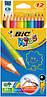 Цветние карандаши Bic (12 цветов),Киев
