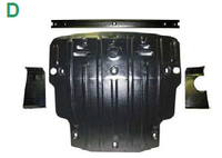 Защита топлив.бака TOYOTA RAV4 v-2,0;2,2D c-2013г.