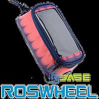 Велосипедная сумка на раму для смартфона Roswheel L Toss Red