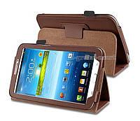 Коричневый чехол для Galaxy Tab 3 7.0 SM-T2100