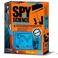 Сигнализация набор шпиона серии Детская лаборатория 4М (00-03246)