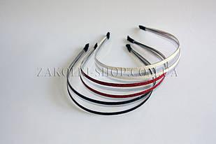 Обруч для волос метал двухрядный, ассорти, 12 шт.