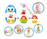 Детская игрушка Пирамидка-матрешка птенцы, BeBeLino (57078-2)