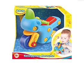 Детская игрушка-конструктор Мотоцикл (украинская упаковка), BeBeLino (57082)