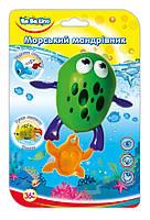 Заводная игрушка для купания Морской путешественник Лягушка (украинская упаковка), BeBeLino (57093)
