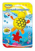 Заводная игрушка для купания Морской путешественник Черепашка (украинская упаковка), BeBeLino (57094)